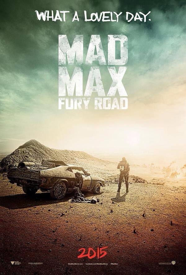 Mad Max: Fury Road, poster