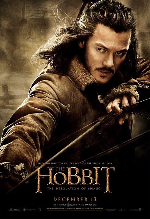 Hobbit, Desolation of Smaug, character poster