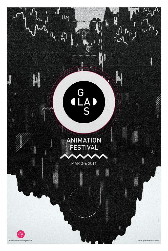 GLAS festival poster