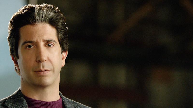 "David Schwimmer as Robert Kardashian in ""American Crime Story: The People vs. OJ Simpson"""