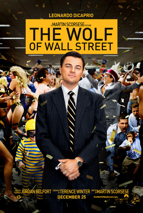 Wolf Of Wall Street, poster