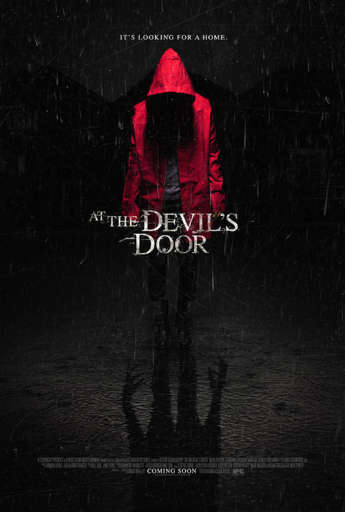 "Poster for ""At The Devil's Door"""