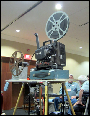 Digital cinema may be taking over the world, but 16mm projection is alive and well at Cinefest.