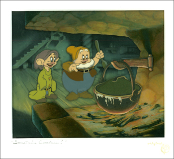 """Somethin's Cookin'!"" Walt Disney's ""Snow White and the Seven Dwarfs"" (1937)"