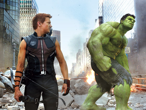 The Avengers Jeremy Renner Hulk skip crop