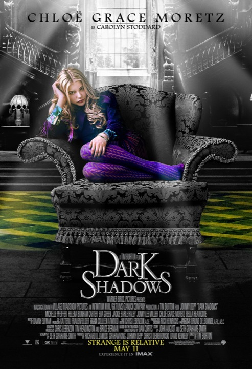Dark Shadows Poster Chloe Grace Moretz