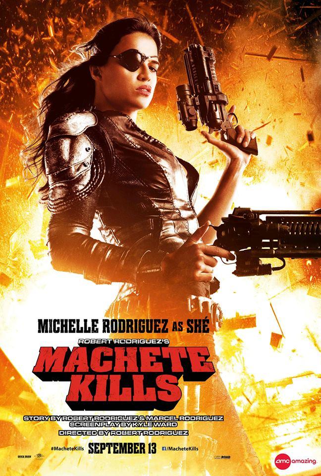 Michelle Rodriguez Machete Kills