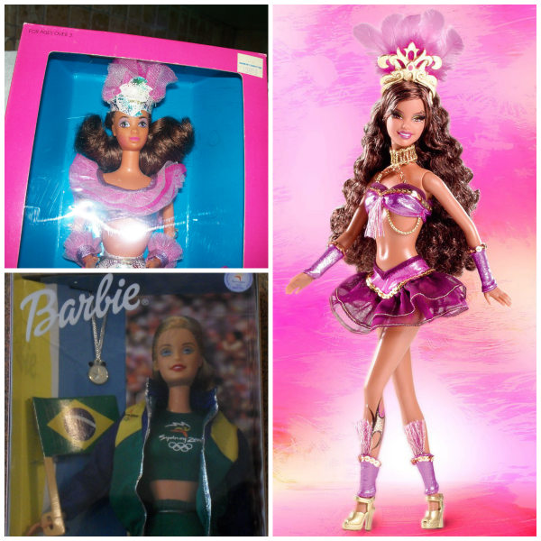 Past versions of Mattel's Barbie, that were intended to depict the Brazilian woman, didn't really represent women of color.