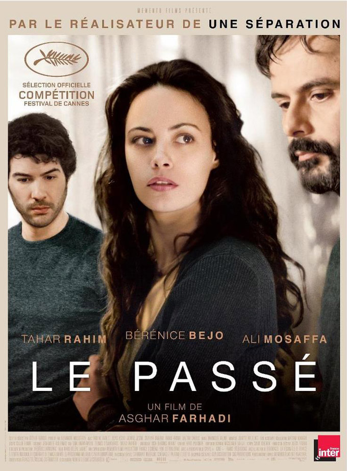 The Past, Asghar Farhadi, Bérénice Bejo, poster