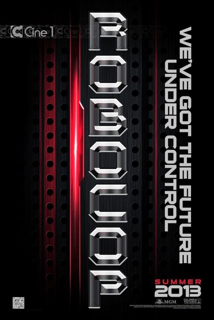 RoboCop promo poster