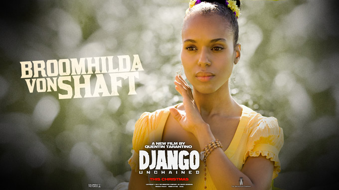 Django Wallpaper, Broomhilda