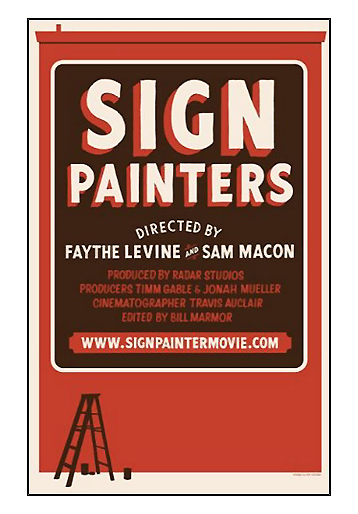 Sign Painters-DVD Poster Art