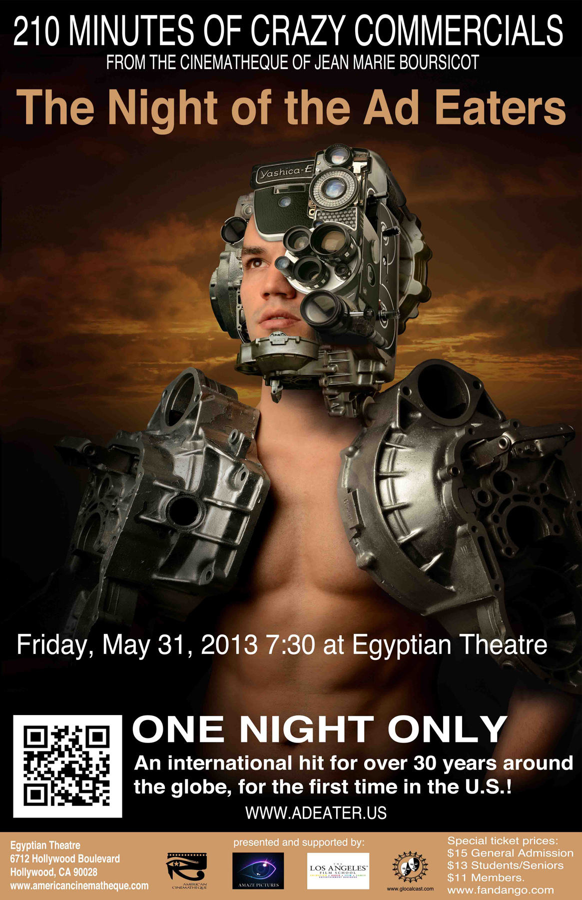 Night of the Ad Eaters poster