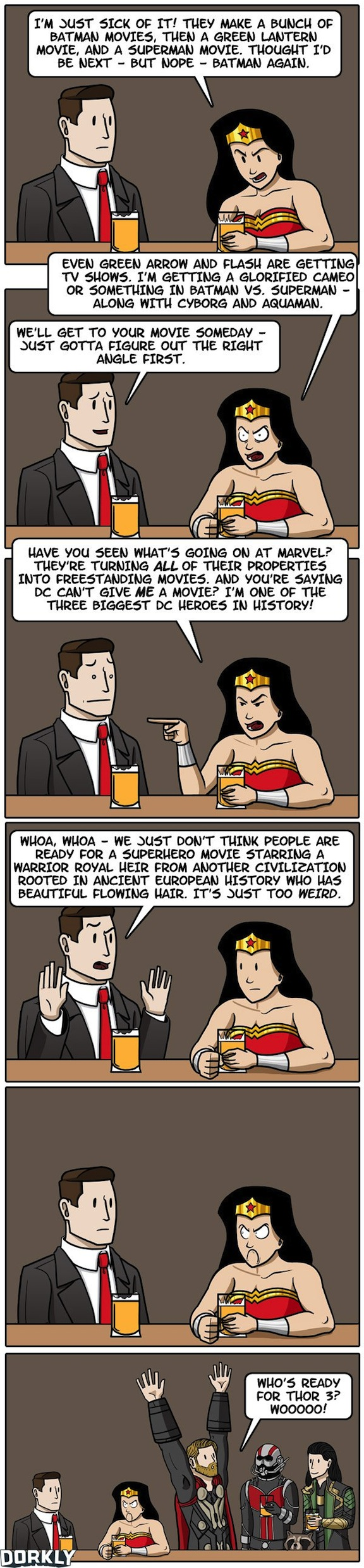 The Trouble with Wonder Woman