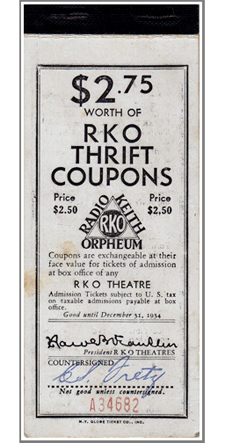 RKO Movie Tickets-225