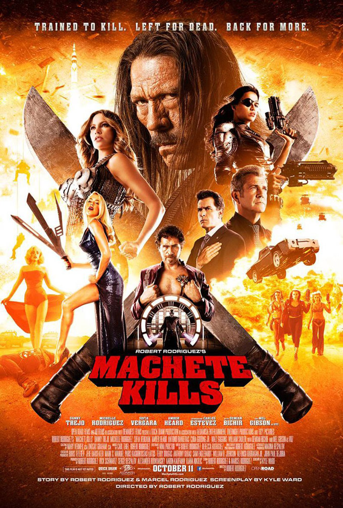 Machete Kills, poster