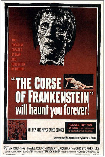 Curse of Frankenstein Poster-1957