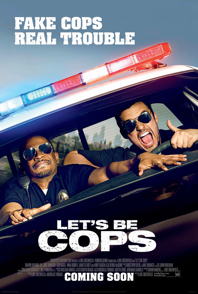 Let's Be Cops, poster