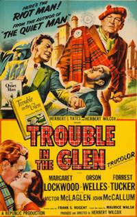 Trouble in the Glen poster