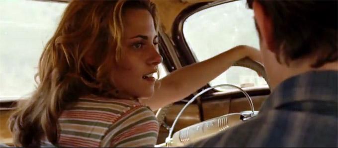 Kristen Stewart, On The Road, clip
