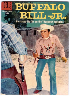 Dick Jones on Buffalo Bill Comic