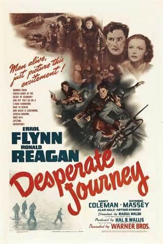 Desperate Journey poster