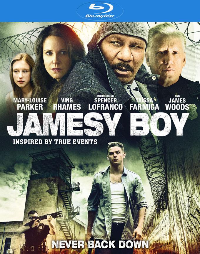 James Boy Blu-Ray Cover