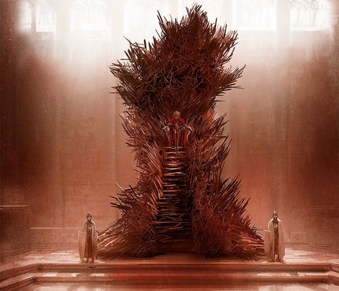 Games Of Thrones Throne Design George R.R. Martin