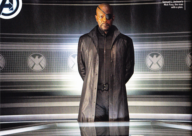 The Avengers Nick Fury Scan