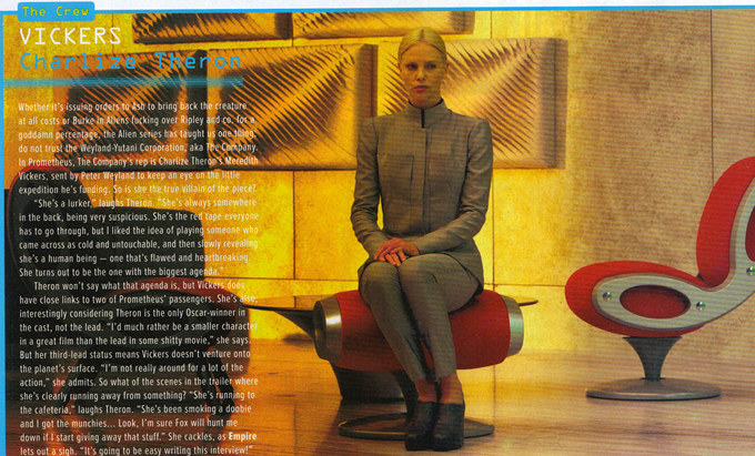 Prometheus Charlize Theron Empire scan skip crop