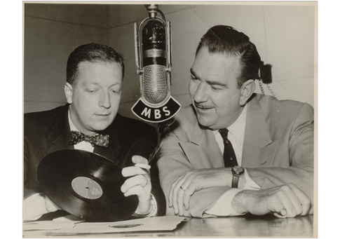 Bob and Ray in their Radio heyday