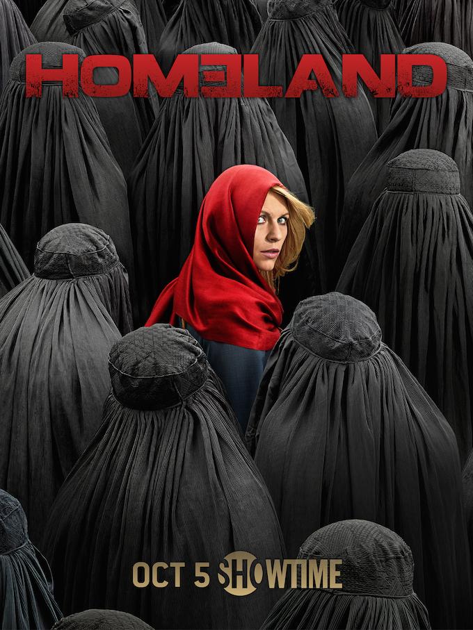 """Homeland"" Season 4 Poster"