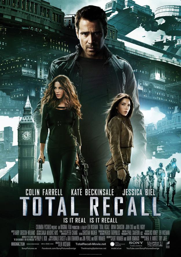 Total Recall, International Poster
