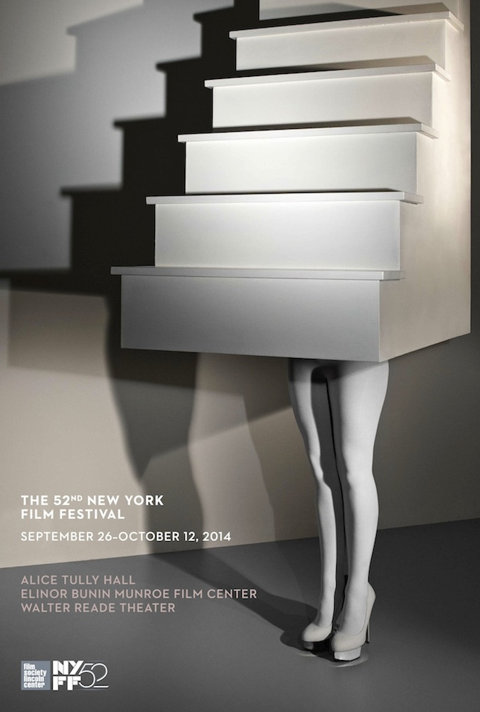 52nd New York Film Festival Poster designed by Laurie Simmons