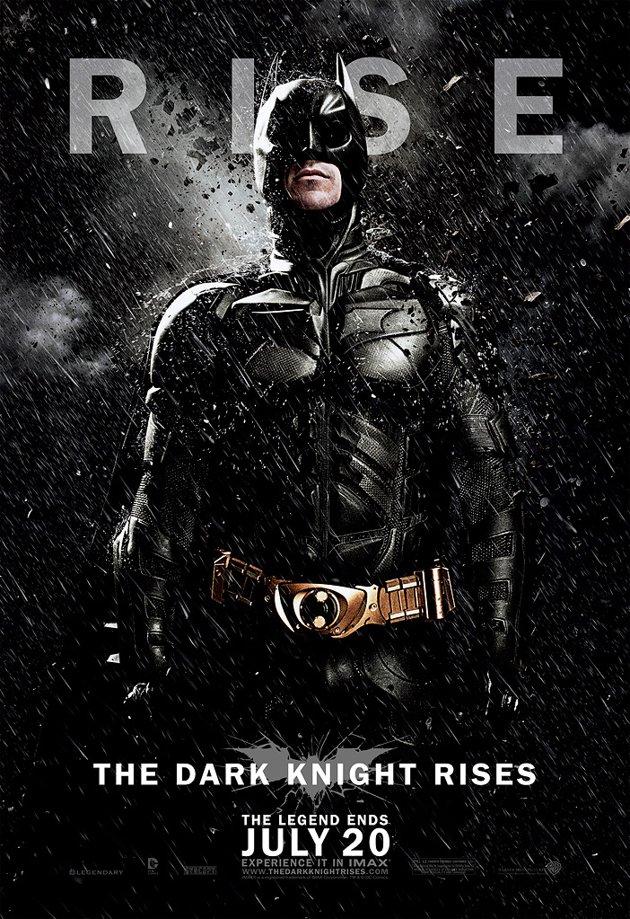 Dark Knight Rises Batman Character Poster