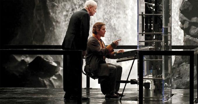 Michael Caine, Christian Bale, TDKR (skip crop)