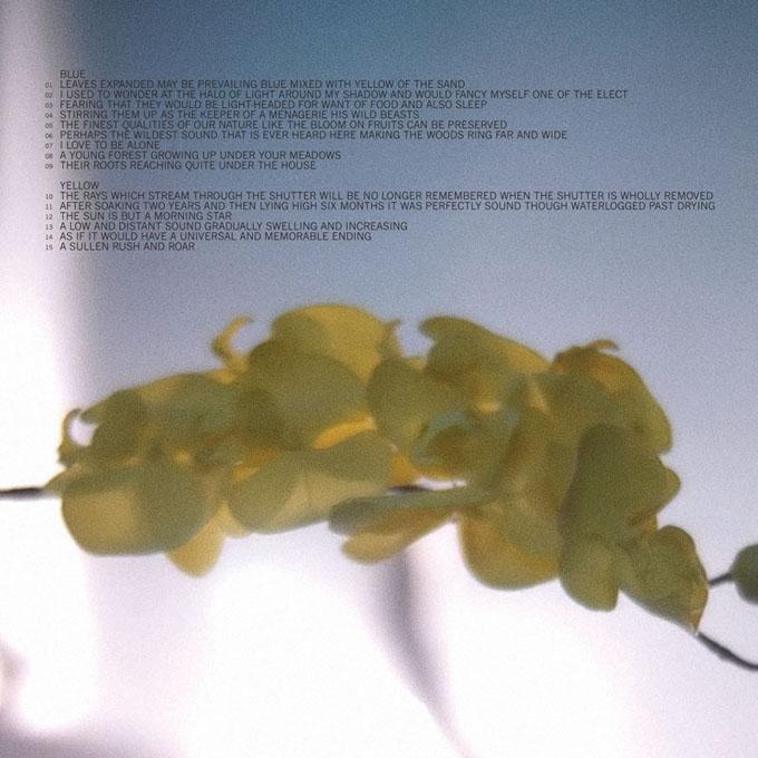Upstream Color Vinyl tracklist