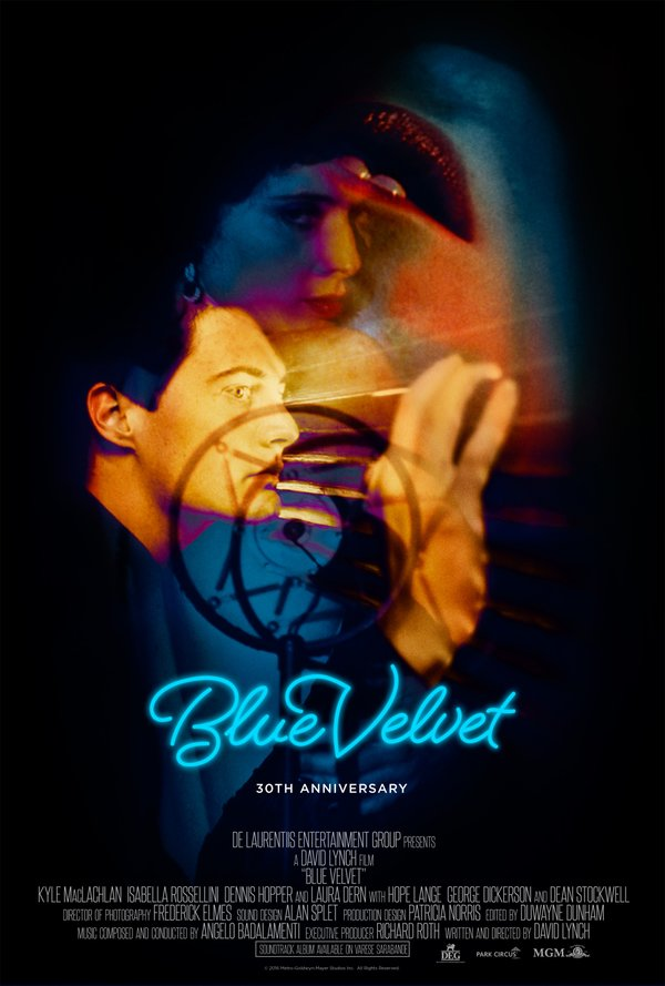 """""""Blue Velvet"""" 30th Anniversary Poster"""