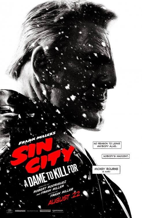 Sin City: A Dame To Kill For, poster