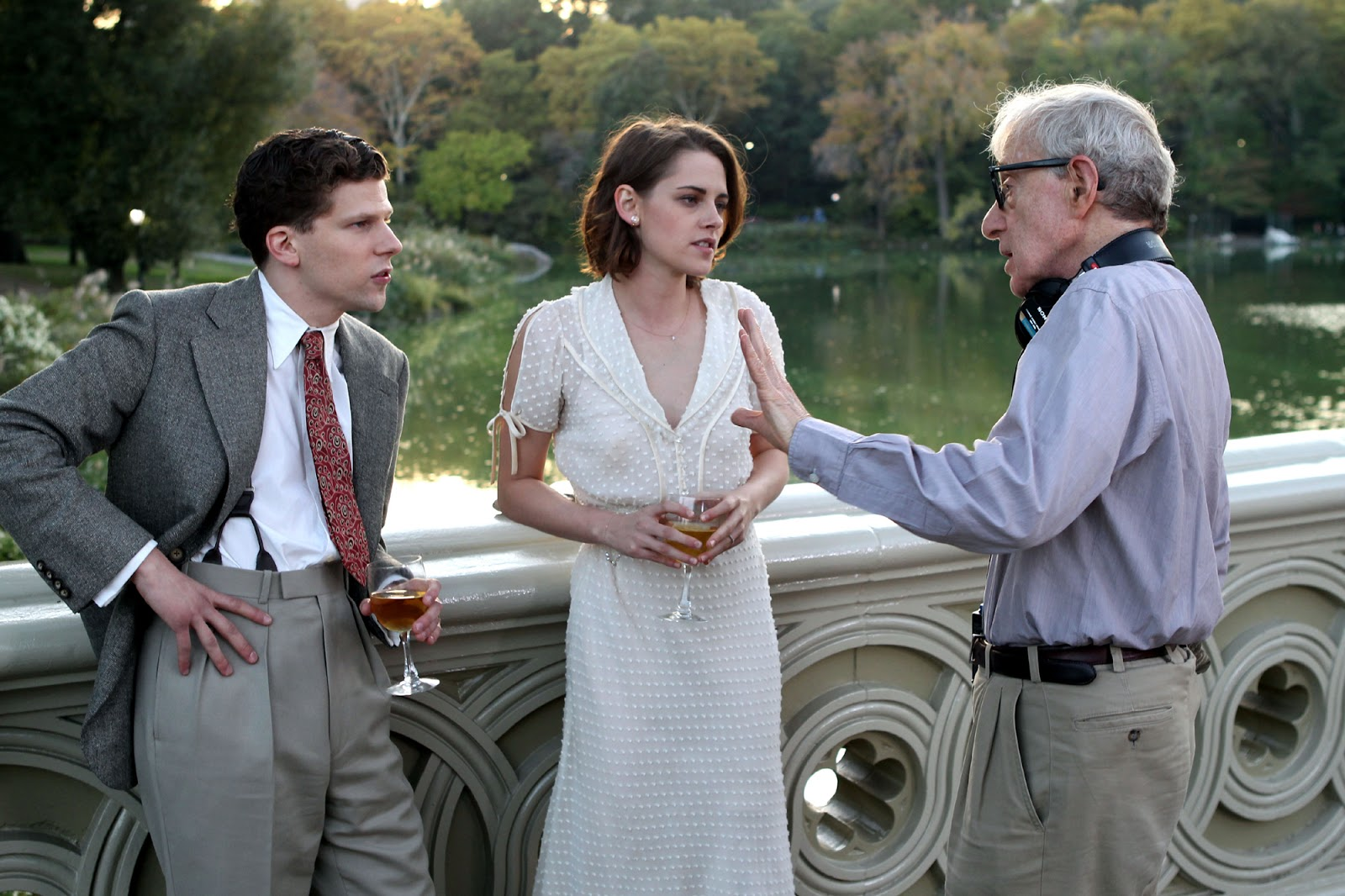 �caf233 society� 8 things woody allen and kristen stewart