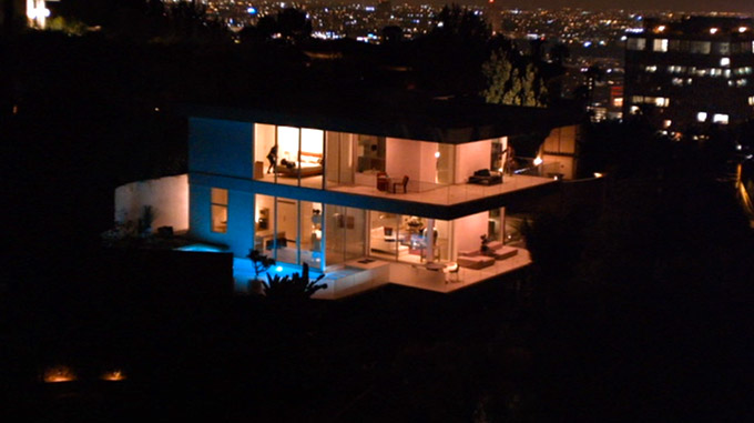 The Bling Ring House long shot