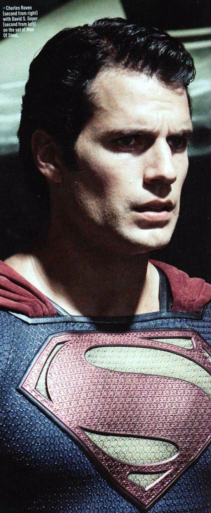 Man Of Steel,  Henry Cavill (skip)