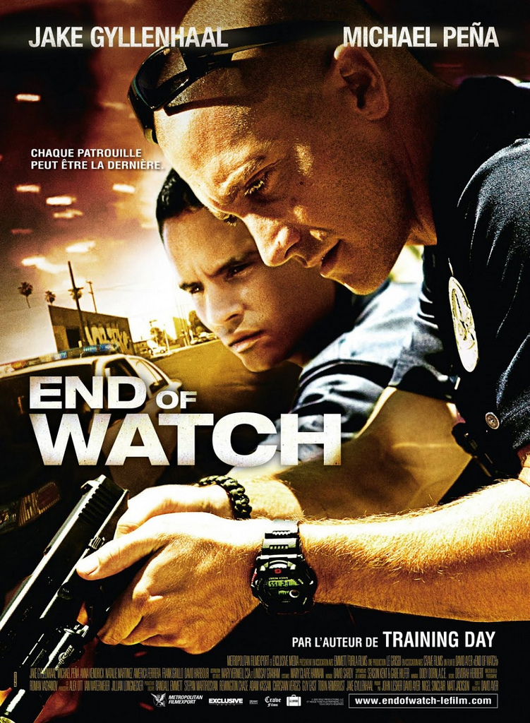 End Of Watch poster skip crop