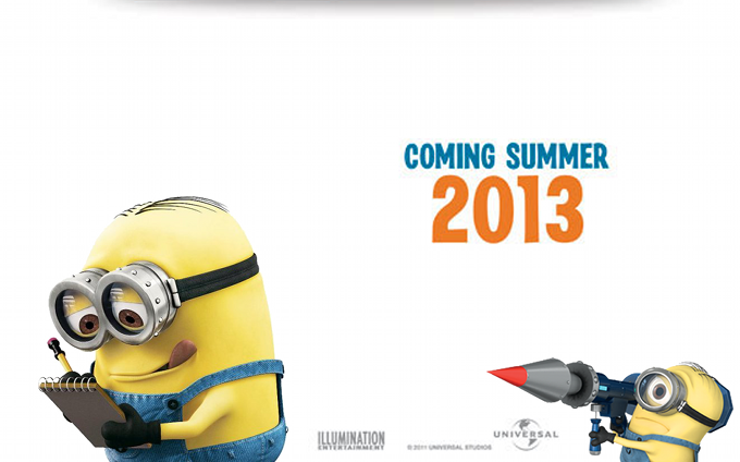 Despicable Me 2 Poster skip crop