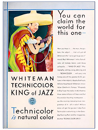 King of Jazz-Two Tone Technicolor