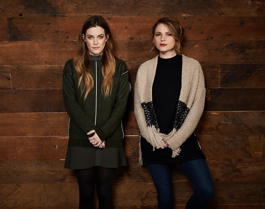 Riley Keough and Amy Seimetz