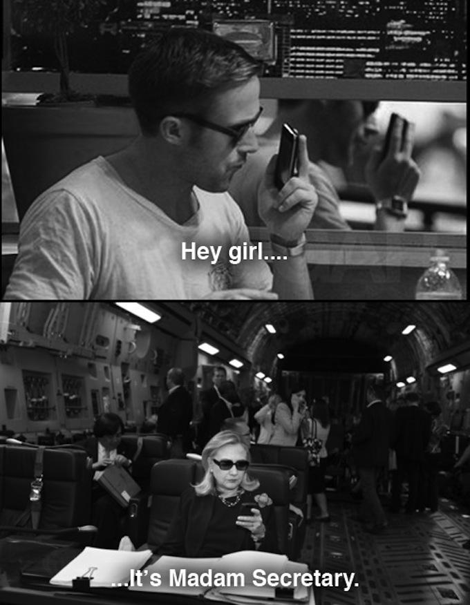 Hey Girl Hillary