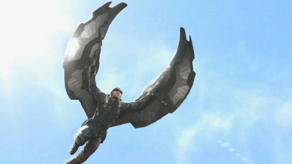 Marvel Falcon Concept (skip crop)