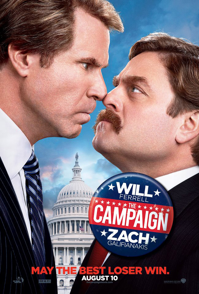 The Campaign, Poster