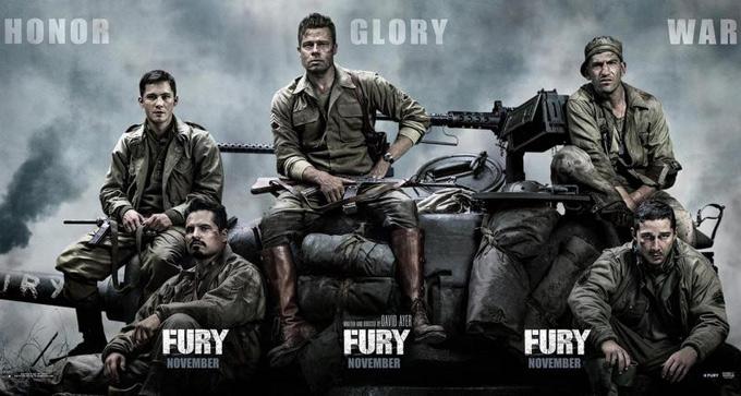 Fury, banner